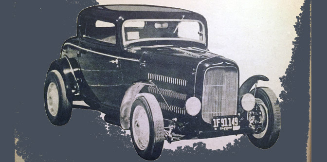 The Round Man's '32 Coupe: Show and Go?