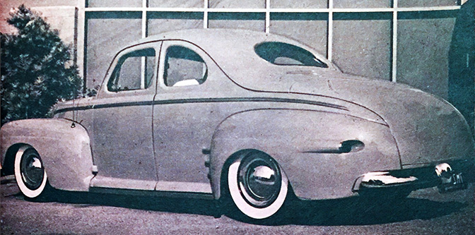 A Rare Business Coupe: The Adamson '42