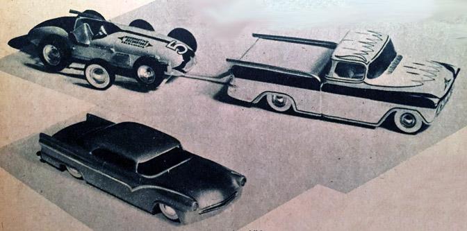 R&C Model Car Contest 1957!