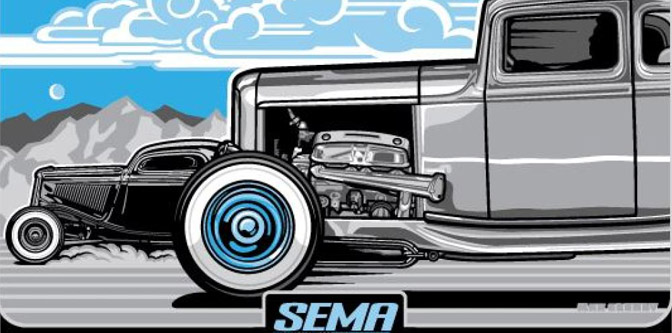 SEMA 2015 is on…