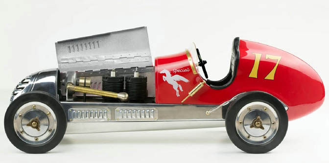 BB Korn Tether Car Replica!