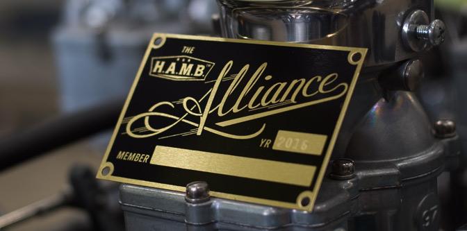 2016 H.A.M.B. Alliance Tags