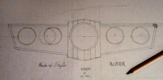 Aviator 5 Gauge Panel
