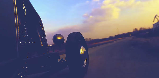 Video of the Day: A Cold Ride in a Hot Rod