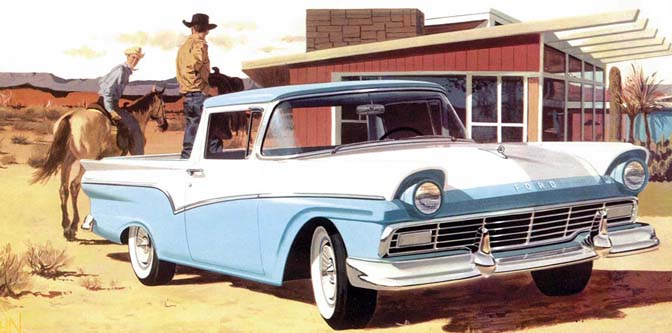 The American Ute: '57 Ranchero and '59 El Camino