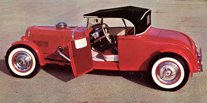 A Roadster from the Twilight Zone