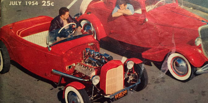 The Classic Deuce Roadster