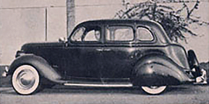 Art Chrisman's Solid Sedan