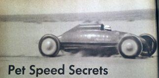 Pet Speed Secrets (of 1952)