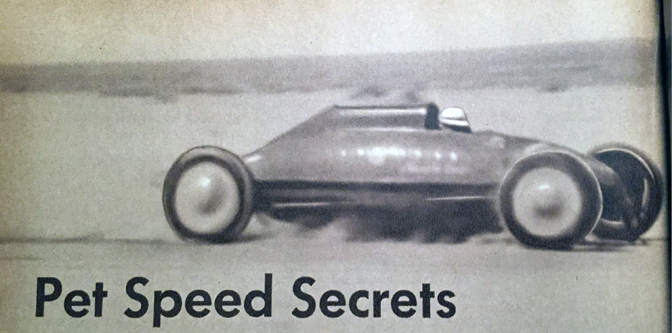 Pet Speed Secrets (of 1952)