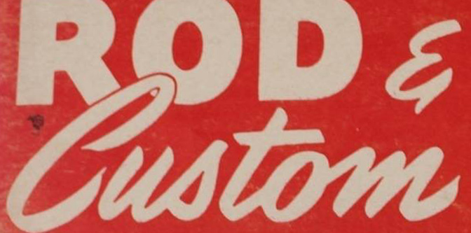 An Index of Rod & Custom Magazine