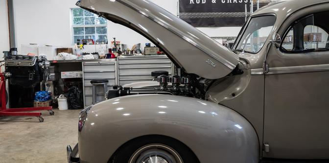 Wavy Evan's '40 Coupe