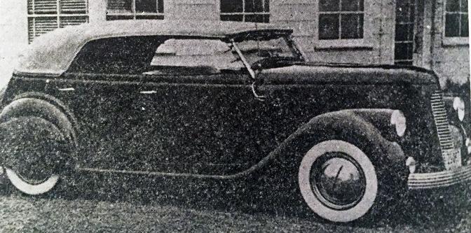 Mid Barbour's 1935 Phaeton