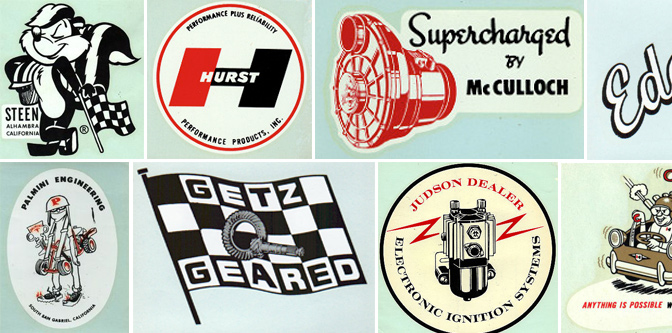 Vintage Speed Logos & Decals: Part 2