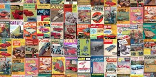 You're Covered: Hot Rodding Magazines from 1945-1975
