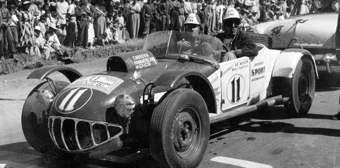 The 1953 Carrera Panamericana…