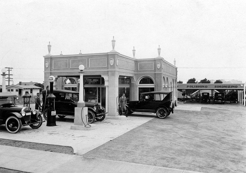 Gas Station Near My Location >> History - Images of vintage gas stations ~ pre 65 | Page 3 ...