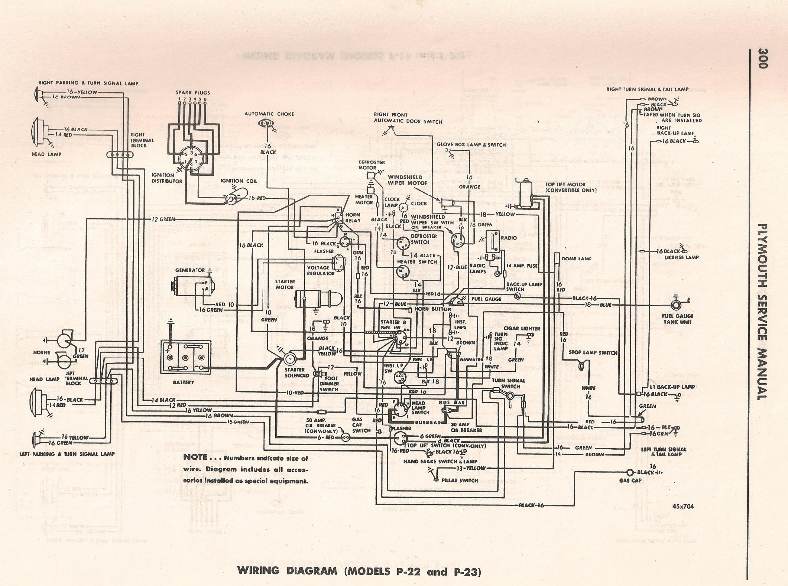 Plymouth Lights Wiring Diagram : Wiring diagram plymouth cranbrook