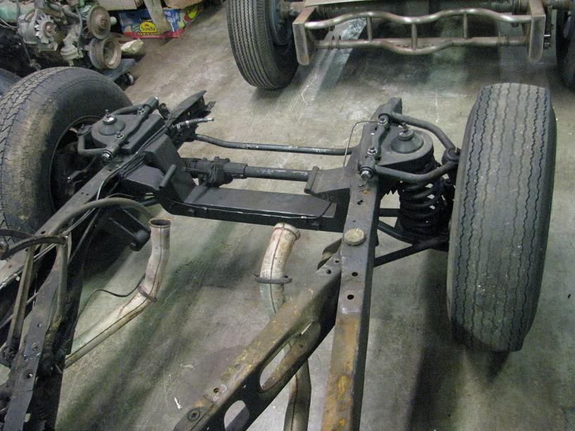 SOLD 1935-1940 Ford Chassis w/ Heidts IFS | The H A M B