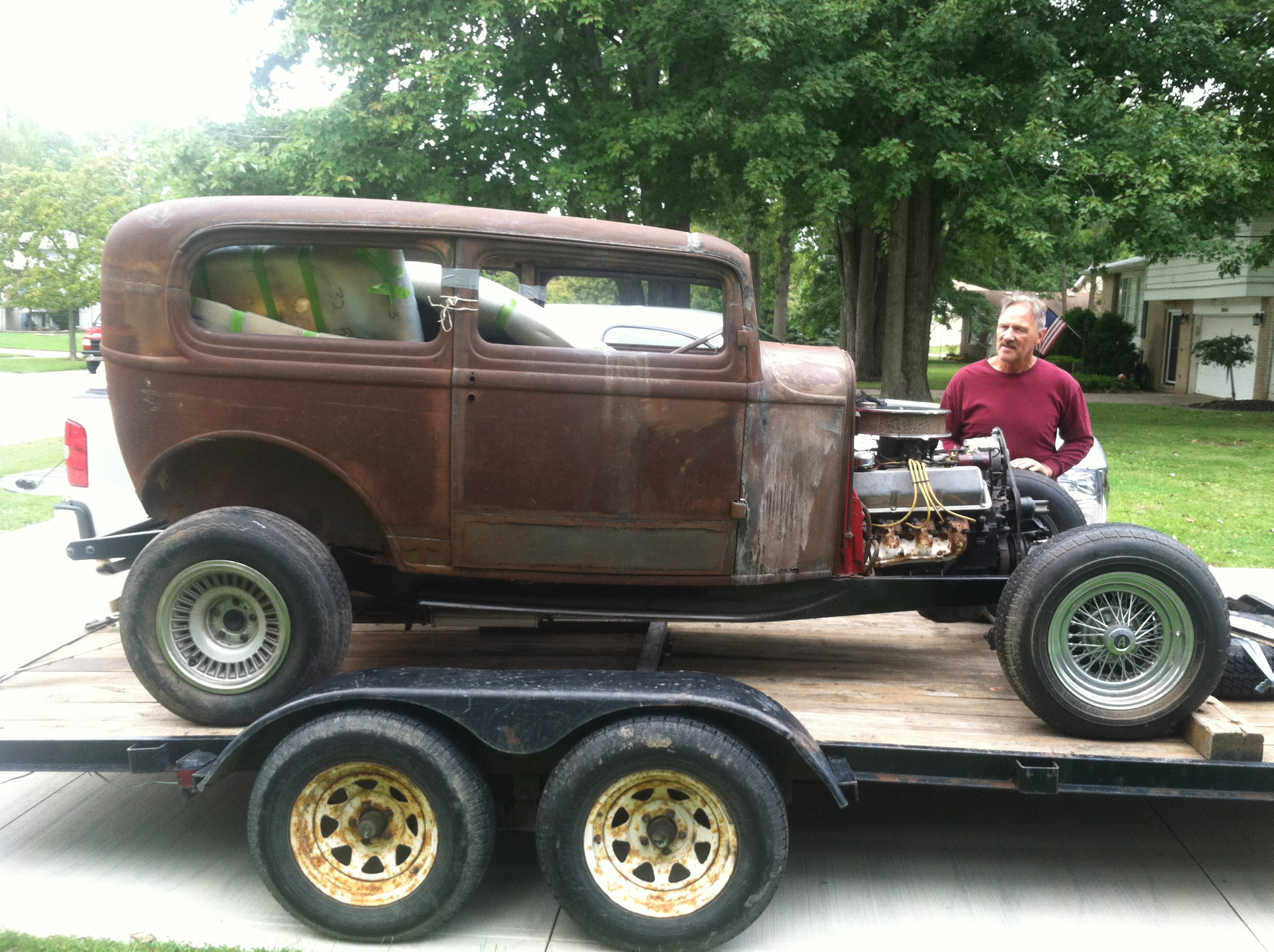 "Hot Rods - 32 Ford ""barn find"" 