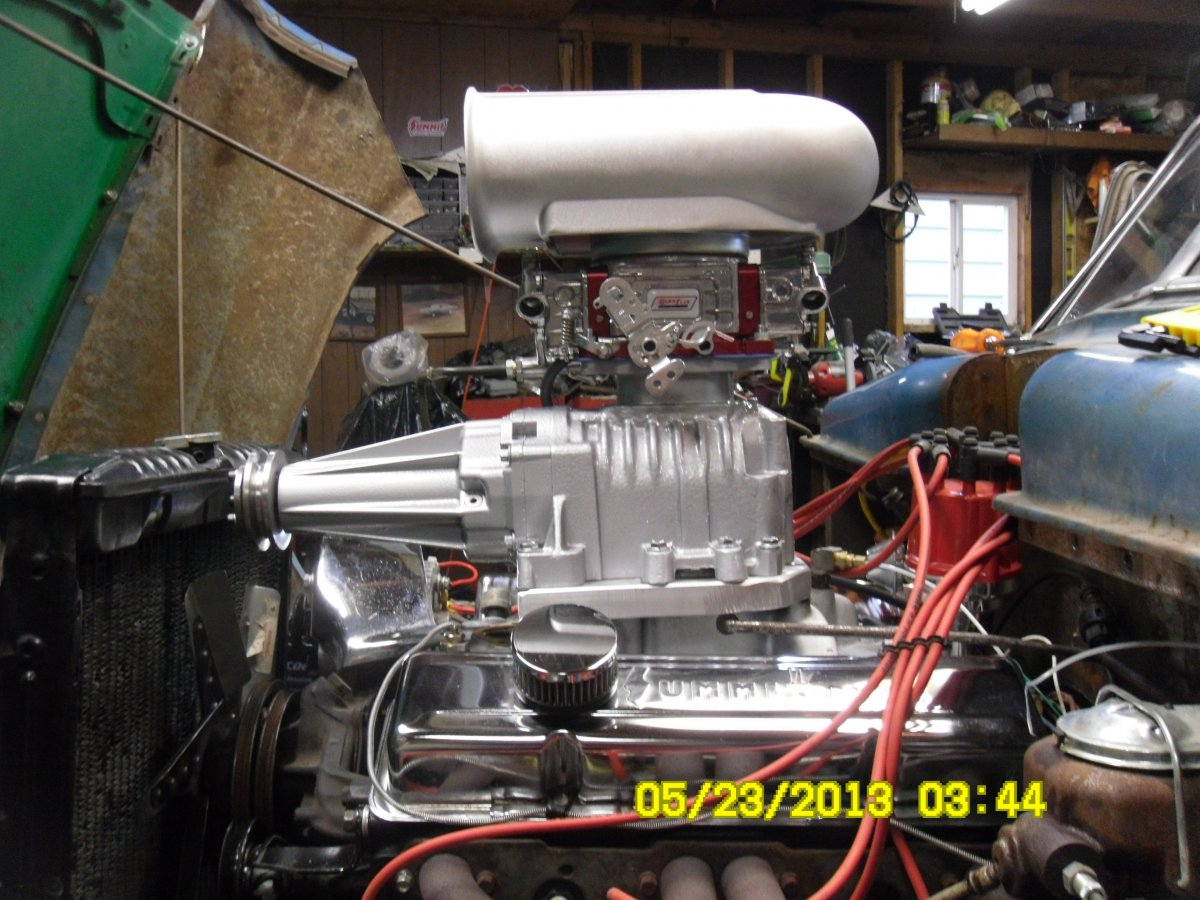 Technical - Eaton supercharger conversion to top carb mount | Page 2