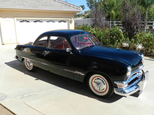 1950 ford club coupe business coupe restored the h a m b. Black Bedroom Furniture Sets. Home Design Ideas