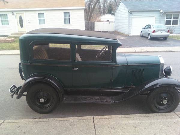 1930 chevy hot rod project the h a m b for 1930 chevy 2 door sedan