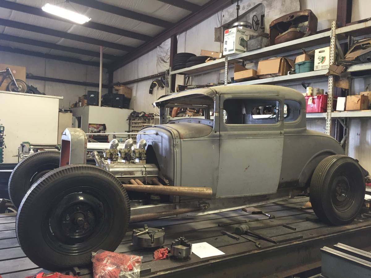 1930 FORD MODEL A COUPE HOT ROD CHOPPED | The H.A.M.B.