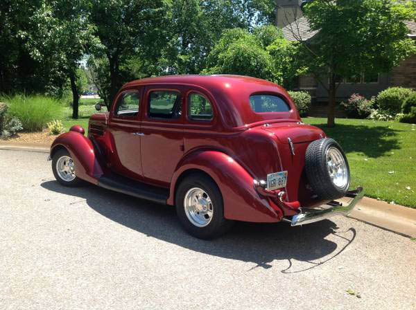 1936 ford 4 door sedan street rod the h a m b
