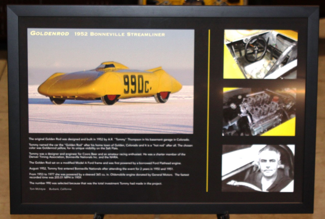 01) #990 'liner @ '14 GNRS 'Century Of Speed' display - Show Card.JPG