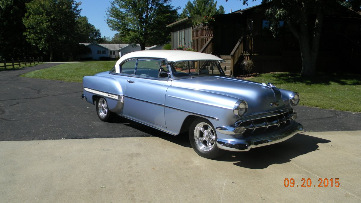 All Chevy 1954 chevy : 1954 Chevy Belair Hardtop | The H.A.M.B.