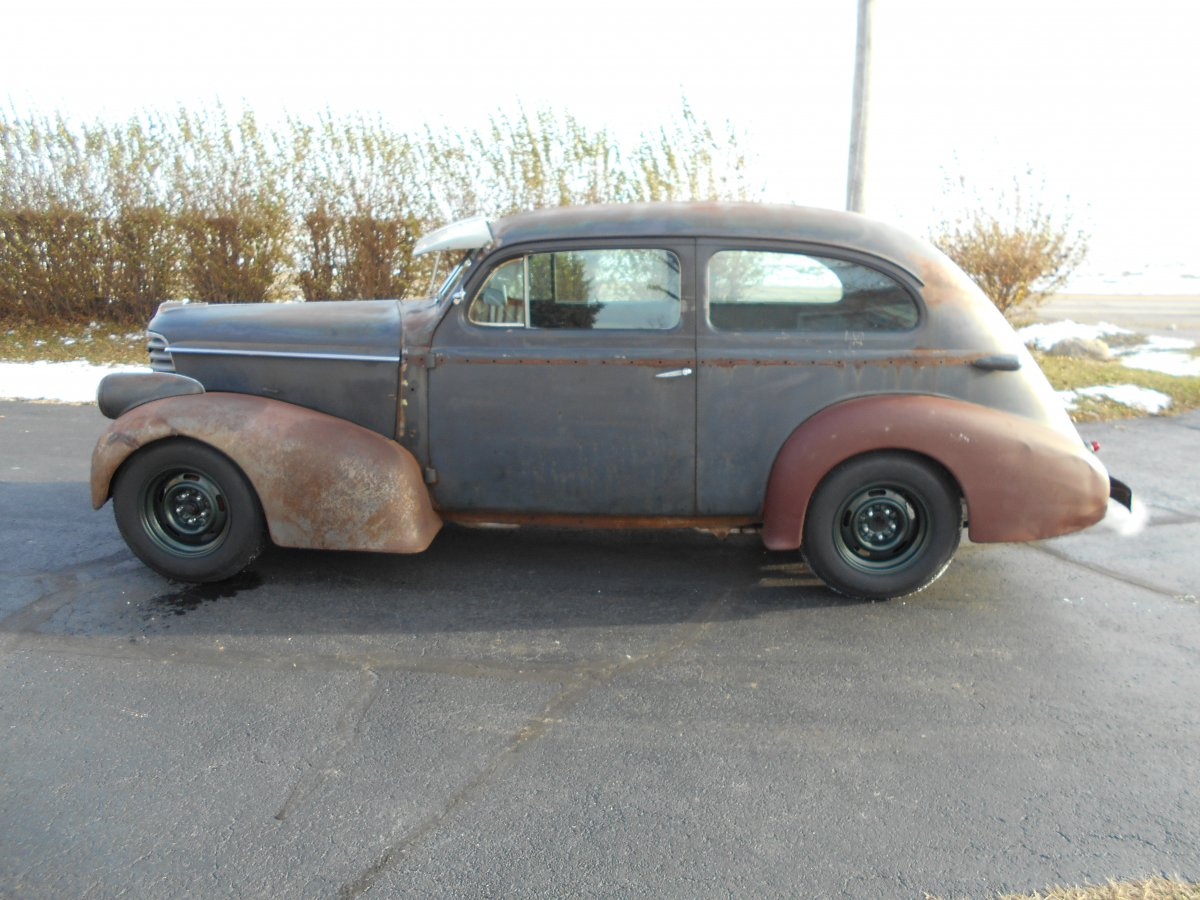 1938 olds 2 door sedan flatback the h a m b for 1938 oldsmobile 2 door sedan