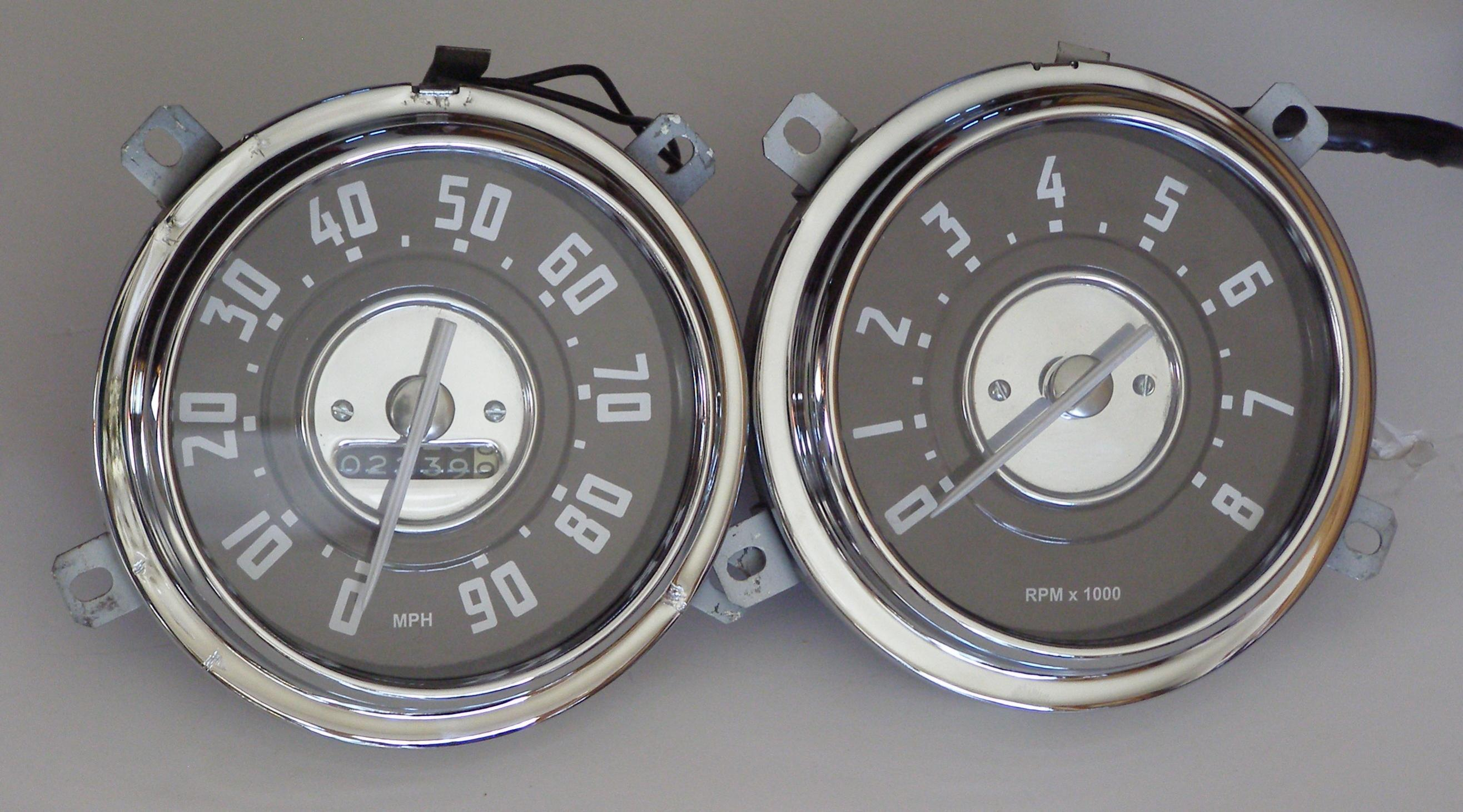 Technical Gauges How To Make A Vintage Tachometer For A 47 53 Chevy Truck The H A M B