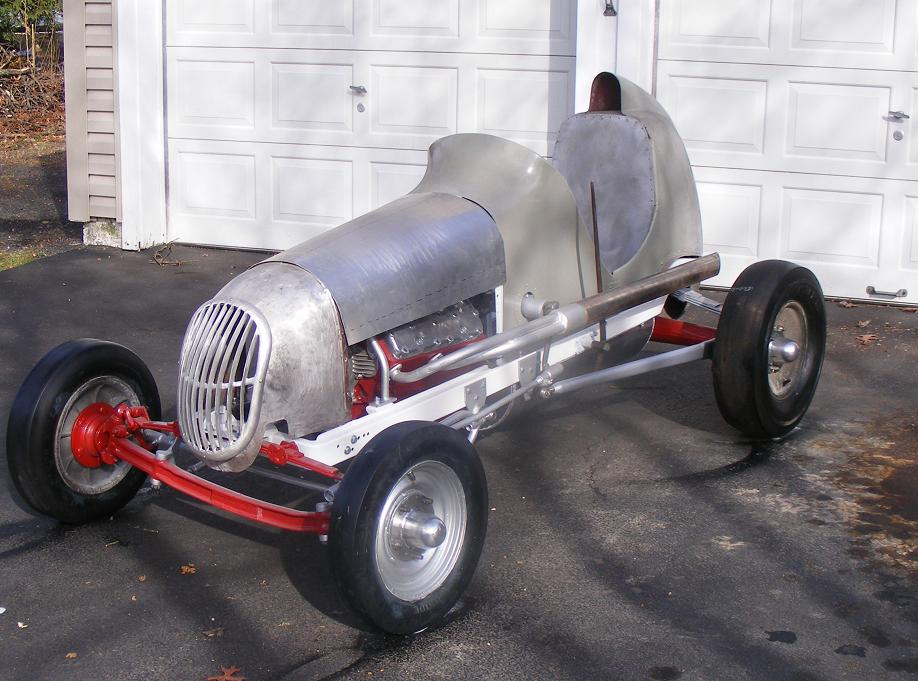 Midget race car and part — 1