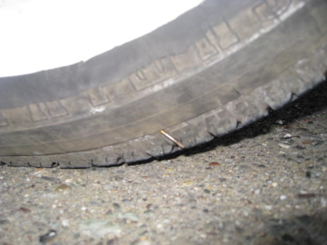 Can I fix a really small hole in my sidewall? | The H.A.M.B.
