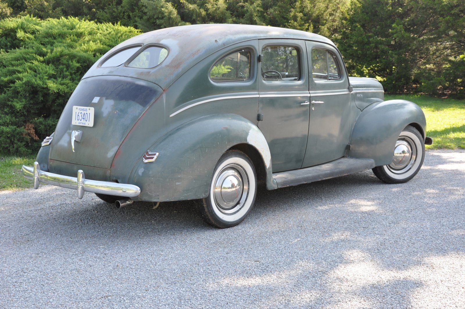 1940 ford deluxe 4 door sedan all original the h a m b