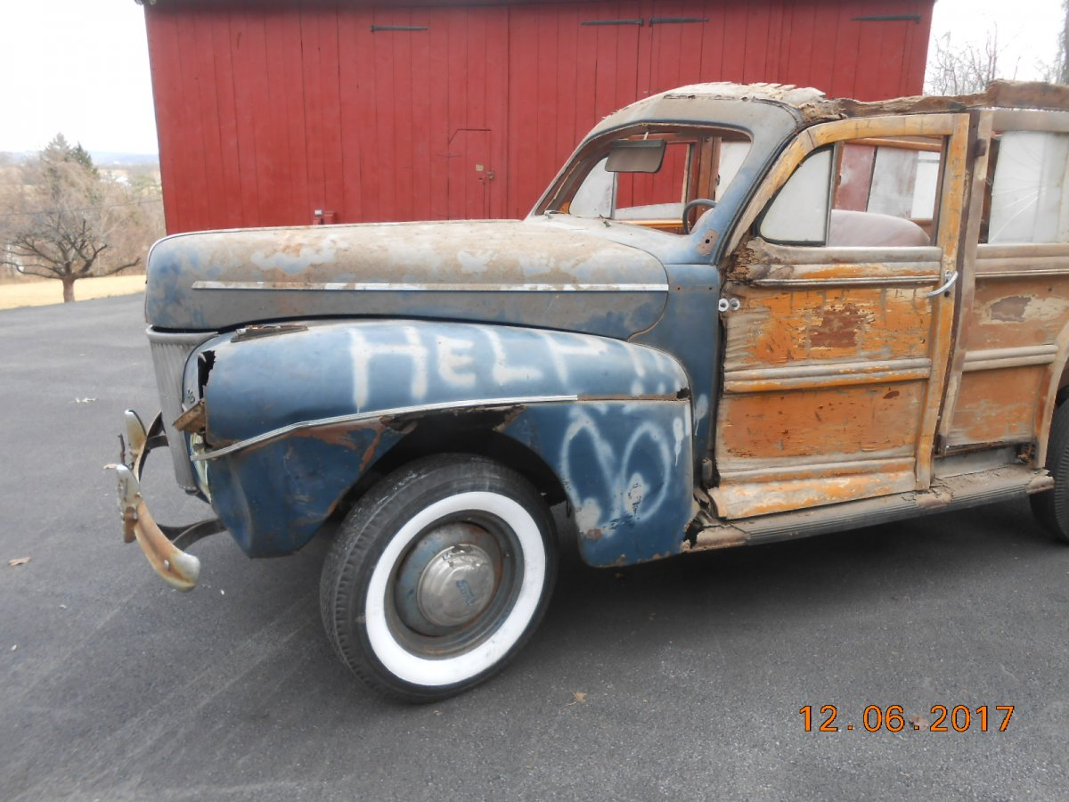 Sold 1941 Ford Woodie The H A M B