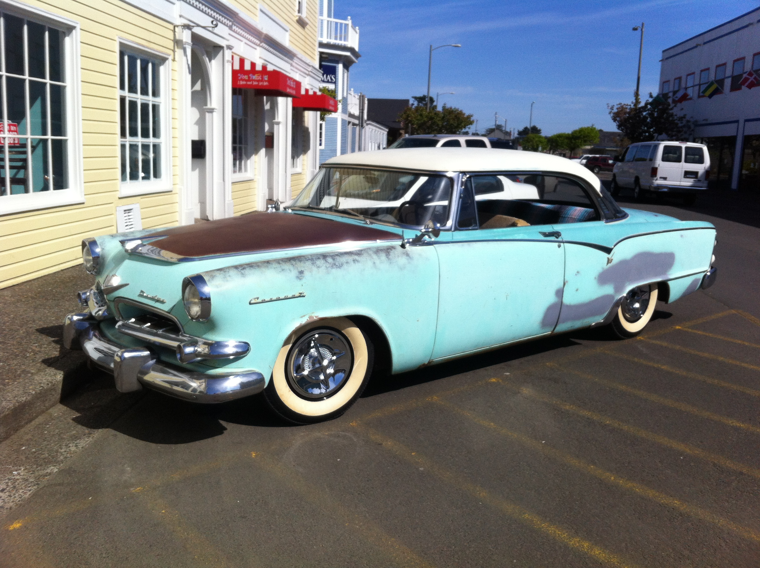1955 dodge coronet 2 door hardtop the h a m b for 1955 dodge coronet 4 door