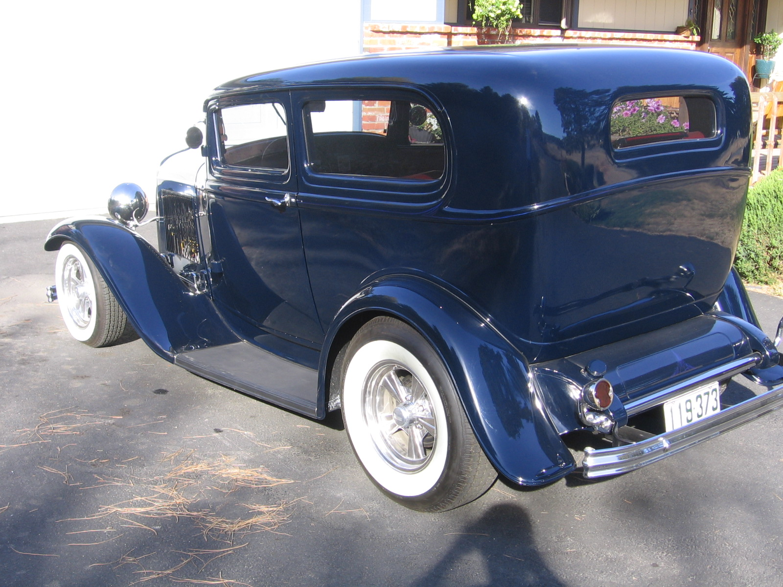 Chopped all steel \'32 Ford Tudor | The H.A.M.B.