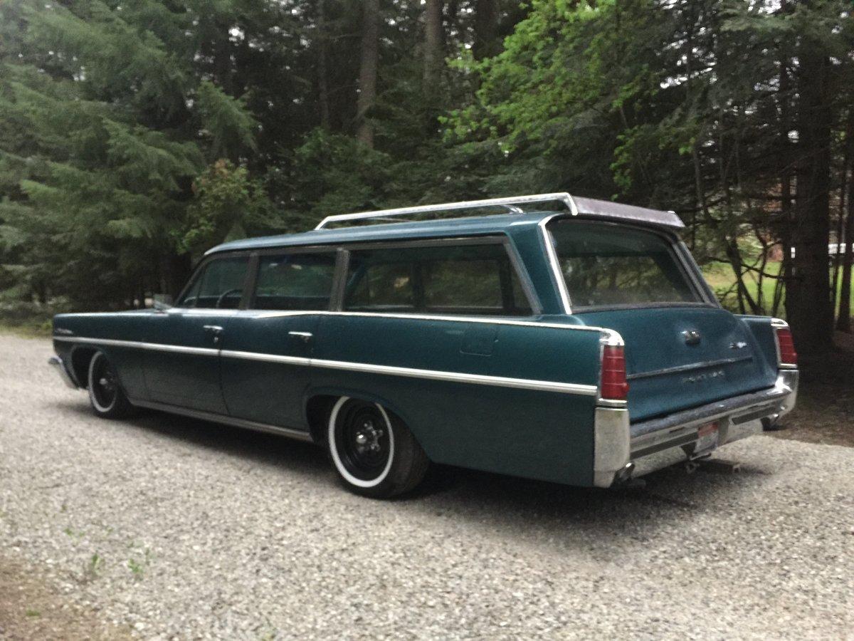1963 Pontiac Catalina wagon   The H A M B