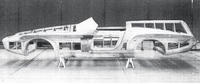 1 - 1960 Plymouth XNR Concept Car (wooden armature at Ghia).jpg