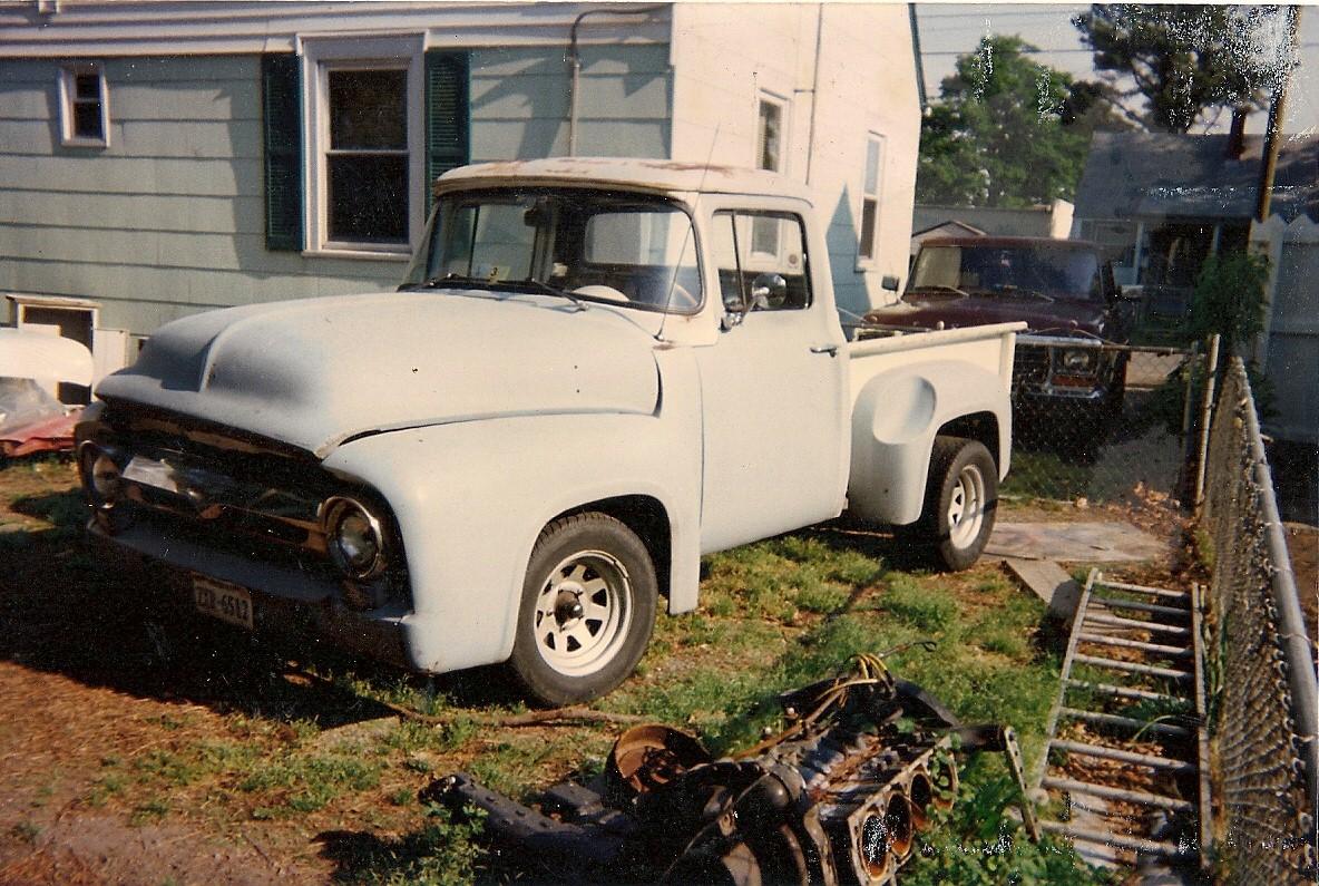 1. '56 before motor, cab & clip swap June 1996.jpg