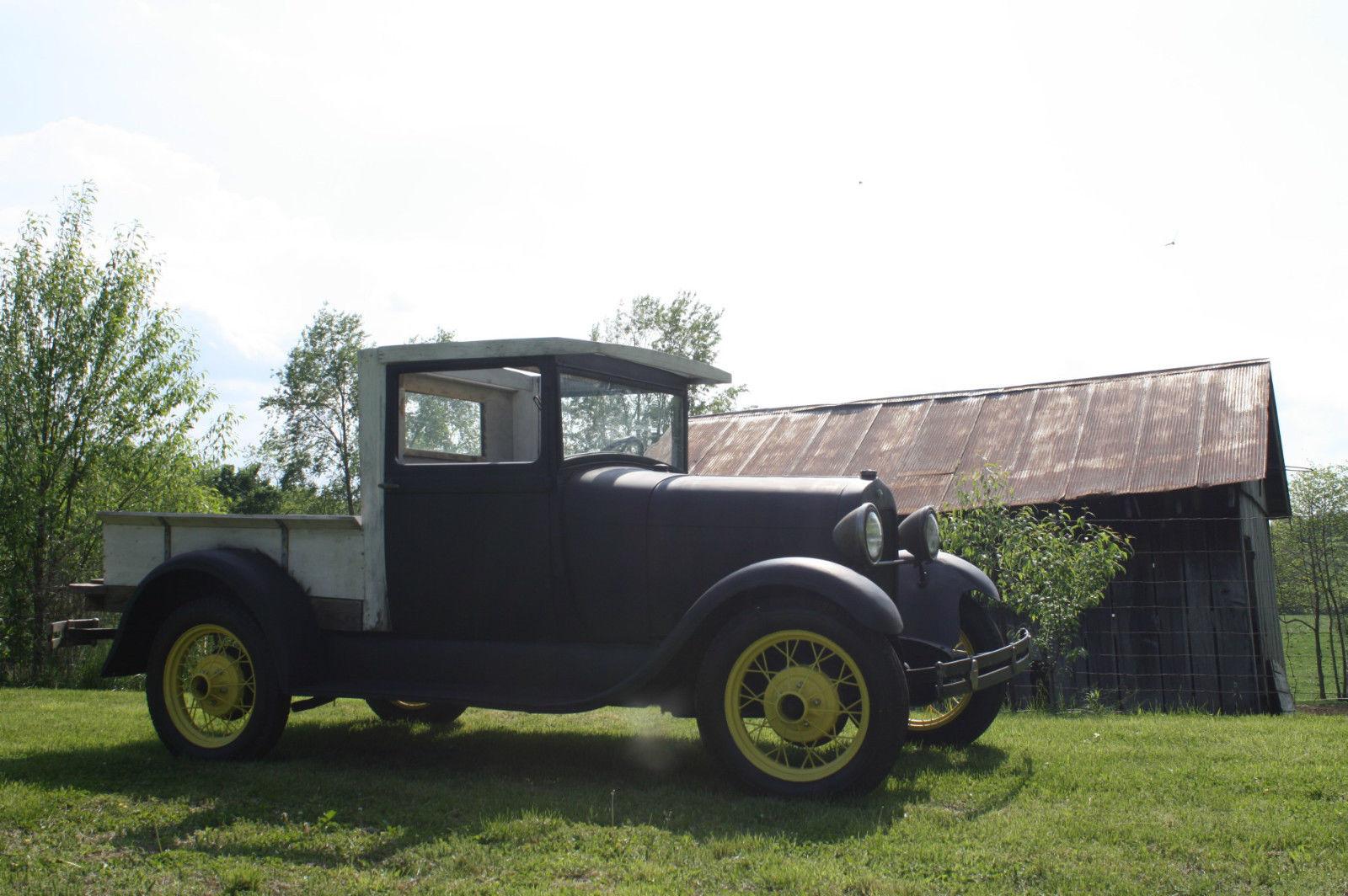 1929 Model A Huckster Pickup | The H.A.M.B.