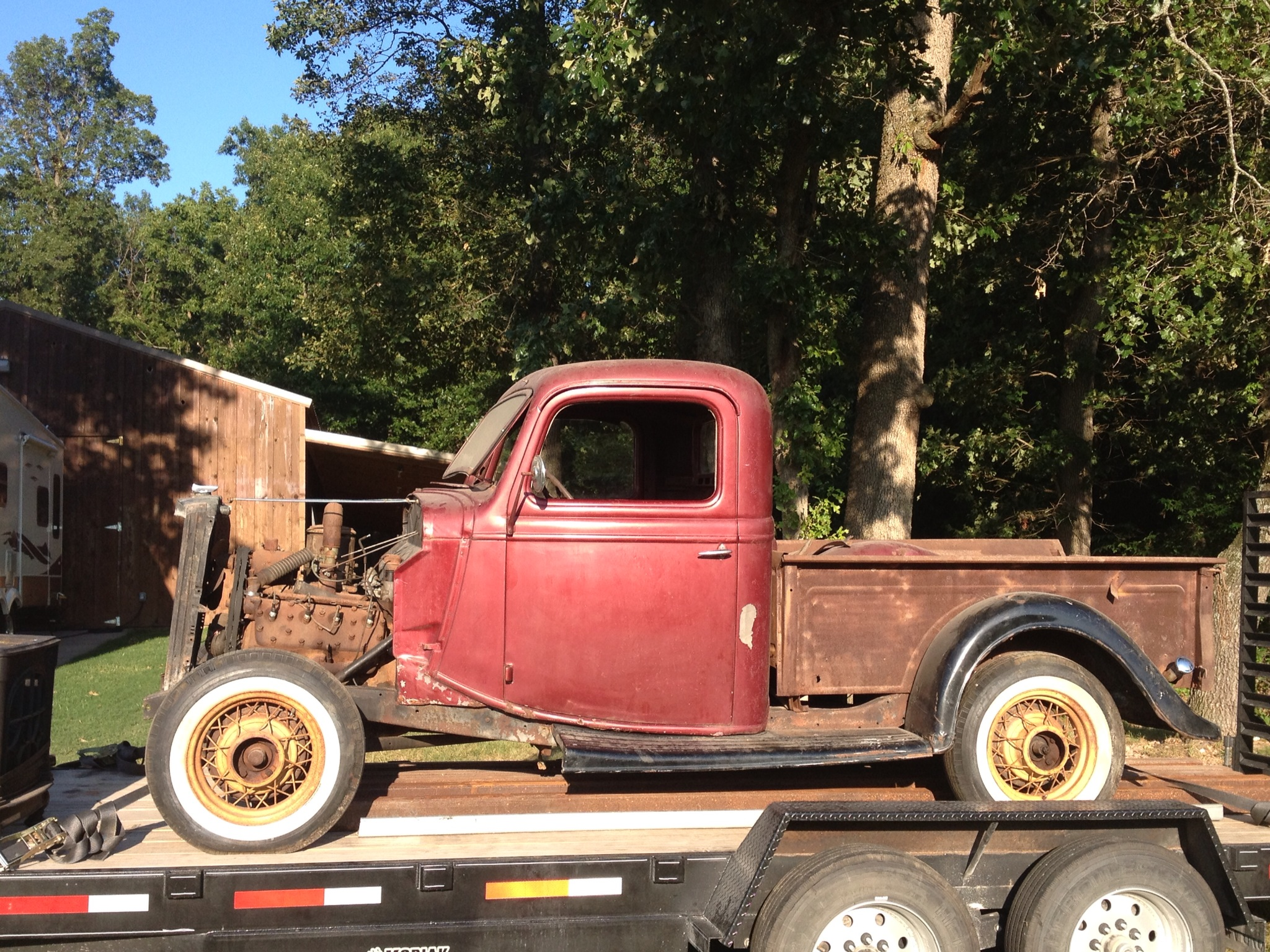 Projects - 1936 Ford Pickup truck build | The H.A.M.B.