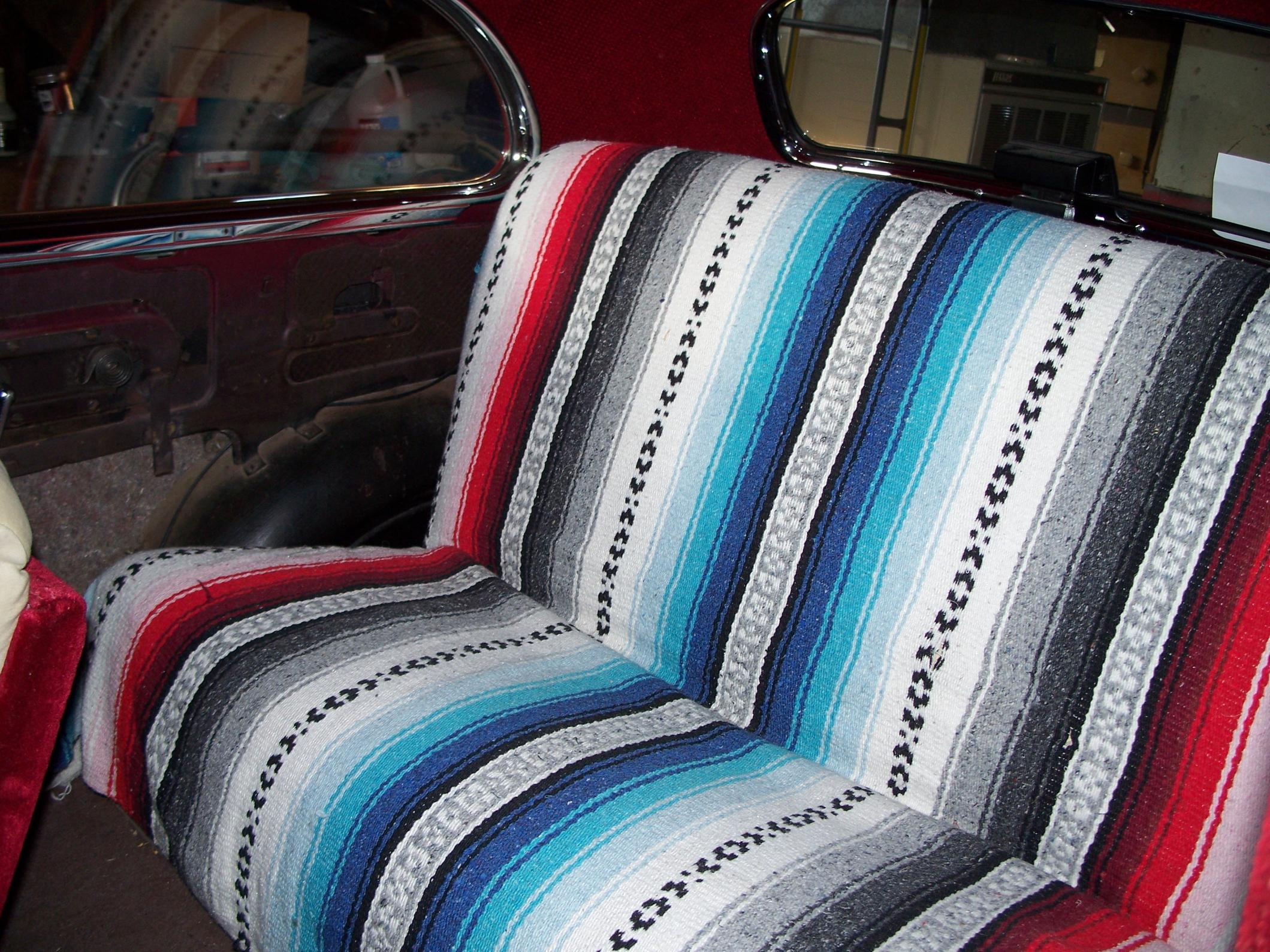 Mexican Blanket Seat Covers Jeep - Velcromag