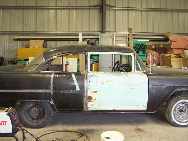 Image gallery 1955 chevy 4 door for 1955 chevy 4 door to 2 door conversion