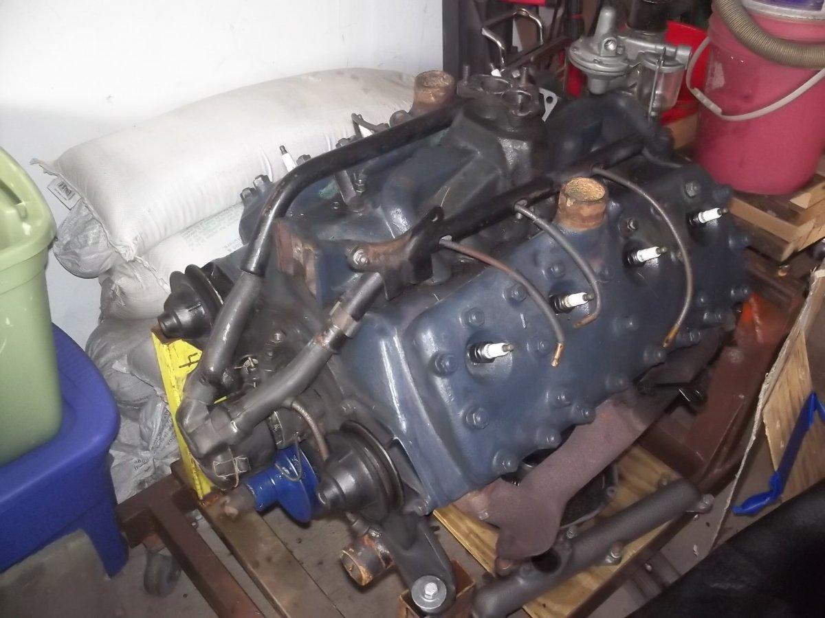 1940 Ford V8 Flathead Motor