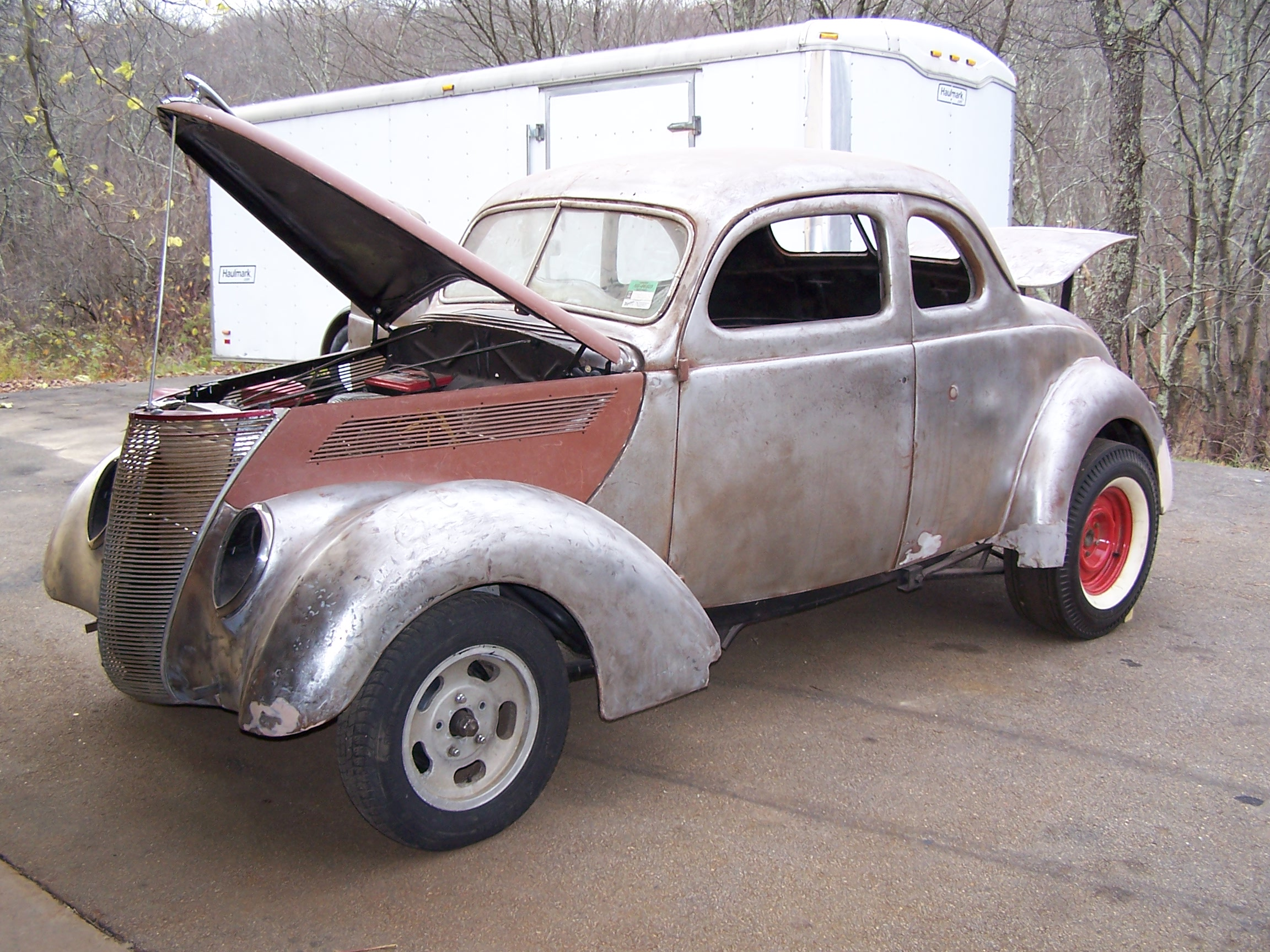 Old Fashioned 1937 Ford Coupe For Sale Project Mold - Classic Cars ...