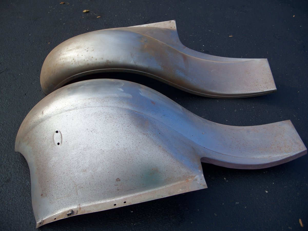 Ford Model A Fenders : New ford model a steel front fenders sold