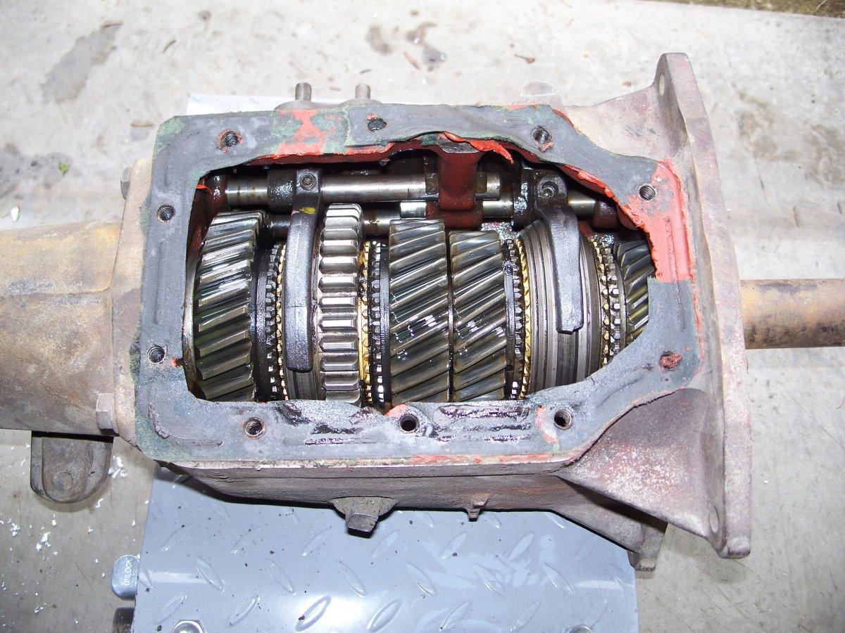 Toploader 4 speed parts